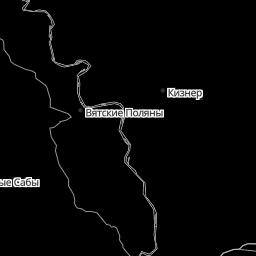 GISMETEO: precipitation and storm radar in Kazan — dynamic radar on